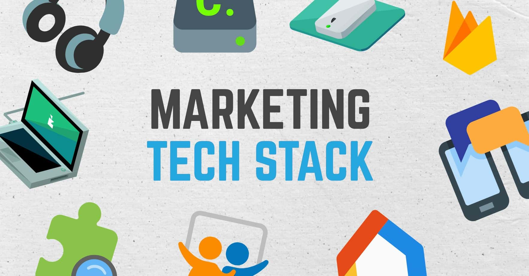 Wekelijkse Marketing Technologie Stack