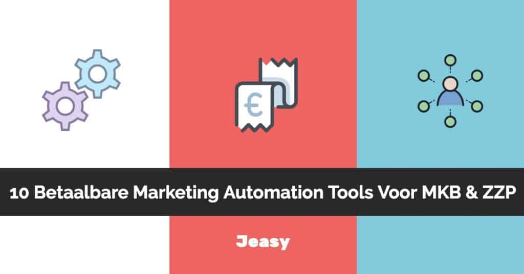 Betaalbare marketing automation tools