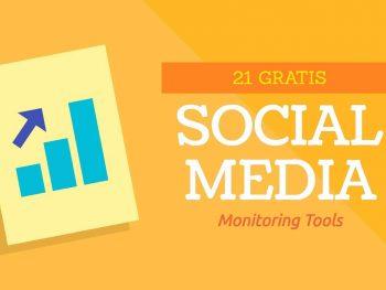 21 Gratis Social Media Monitoring Tools