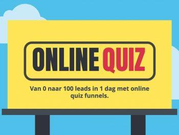 Online quiz funnels: van 0 naar 100 leads in 1 dag