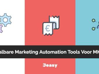 Betaalbare marketing automation tools