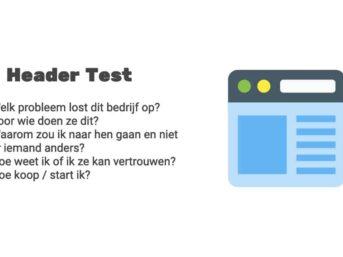 5-sec header test